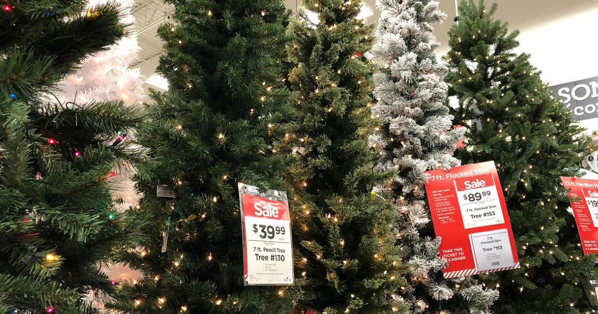 Michaels Christmas Trees Starting At Only 19 99 Black Friday Prices