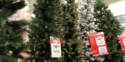 Michaels Christmas Trees Starting at Only $19.99 – Black Friday Prices