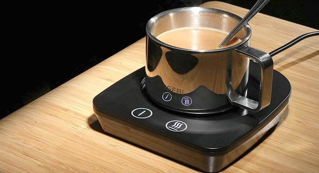 gift guide for coffee lover — coffee mug warmer electric