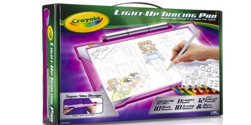 Amazon: Crayola Light Up Tracing Pad Just $24.99 Shipped