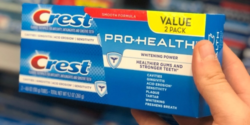 High Value $2/1 Crest Toothpaste Insert Coupon