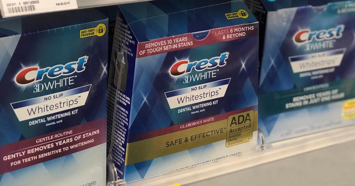 Amazon Crest 3dwhite Whitestrips 14 Treatment Box Only 12 99