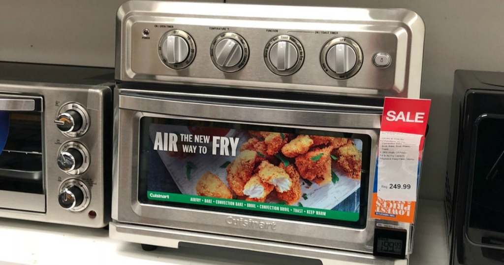 cuisinart air fryer toaster oven black friday