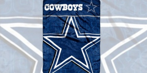 Walmart: NFL Raschel Throws Only $12.88 (Regularly $28) – Broncos, Cowboys & More