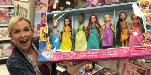 Target: SEVEN Disney Princess Sparkling Dolls Only $39.99 Shipped (Regularly $65)