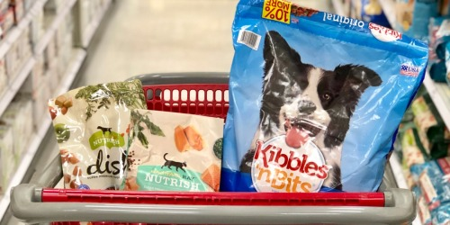 Up to 50% Off Dry Dog & Cat Food at Target