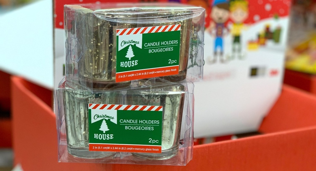 gifts for groups — dollar tree mercury glass candles