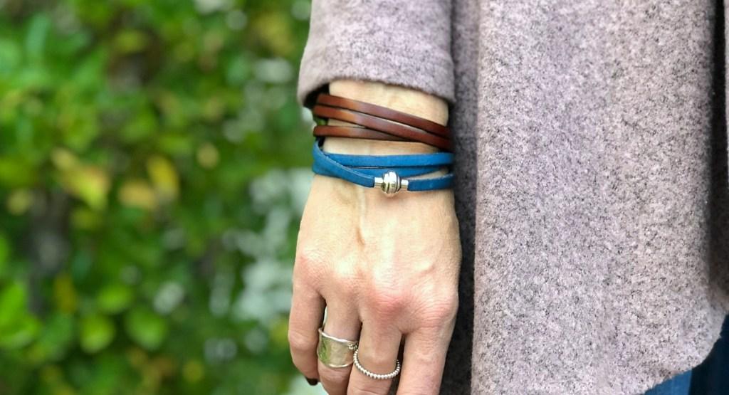 gift guide for women — magnetic wrap bracelet