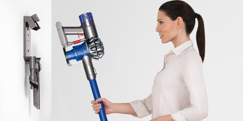 Dyson V6 Fluffy Cordless Vacuum Only $147.99 Shipped (Regularly $500) – Designed for Hard Floors