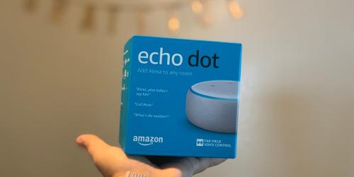 50% Off Echo Dot 3rd Generation Smart Speaker for Amazon Prime Members