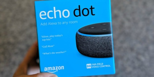Amazon Echo Dot 3rd Gen + Smart Plug Bundle Just $39.99 Shipped (Regularly $75)