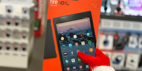 QVC: Amazon Fire HD 10″ Tablets as Low as $97.48 Each Shipped (+ Over $100 Worth of Bonus Items)