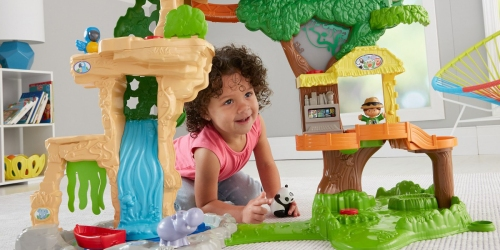 Target: Fisher-Price Little People Happy Animals Habitat Safari Only $29.99 Shipped (Regularly $52)