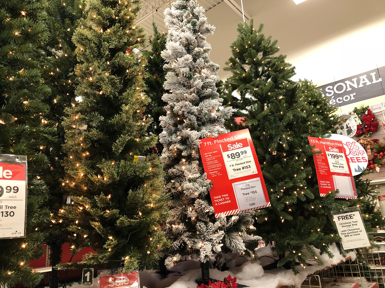 Michaels Christmas Trees Starting At Only 19 99 Black Friday Prices Hip2save