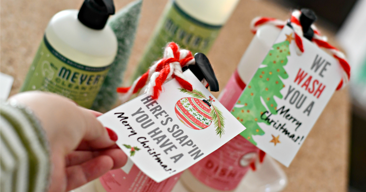 soap gift tag for gift guide
