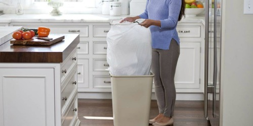 Amazon: Glad Tall Kitchen Drawstring Trash Bags 80-Count Just $9.35 Shipped