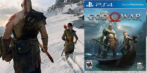 God of War Playstation 4 Game Only $17 at Gamestop (Regularly $40) + More