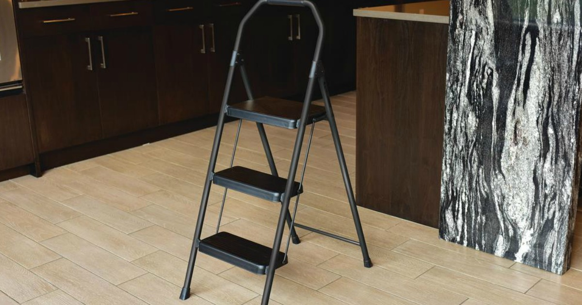 Remarkable Gorilla Ladders Compact Step Stool Only 14 88 At Home Depot Caraccident5 Cool Chair Designs And Ideas Caraccident5Info