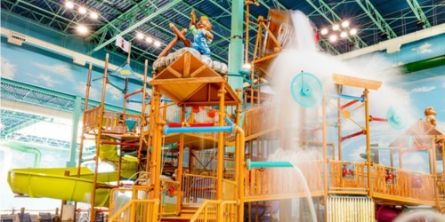 Up to 40% Off Great Wolf Lodge Waterpark Passes + Free $25 Arcade Card