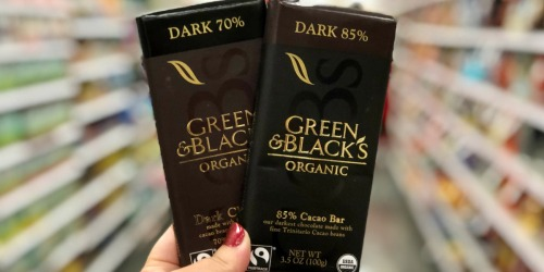 30% Off Green & Black's Organic Chocolate Bars (Just Use Your Phone)