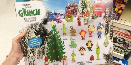 Dr Seuss' The Grinch Advent Calendar Available in Select Target Stores