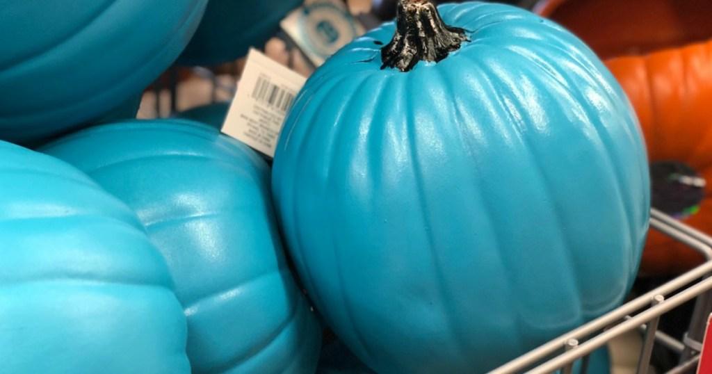halloween teal pumpkins