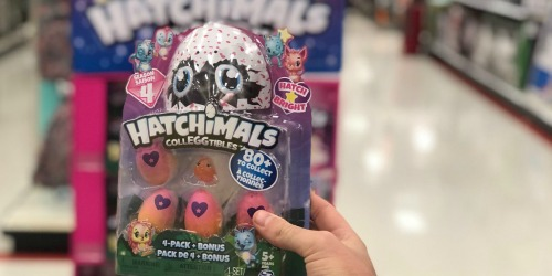Hatchimal Colleggtibles 4-Pack + Bonus Only $6 Shipped at Target