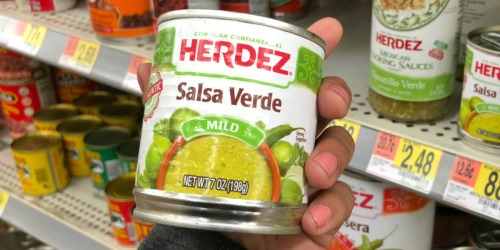 Herdez Salsa Verde 7oz Can Only 33¢ at Walmart