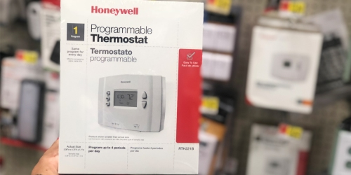 Honeywell Programmable Thermostat Possibly Only $5 at Walmart (Regularly $24+)