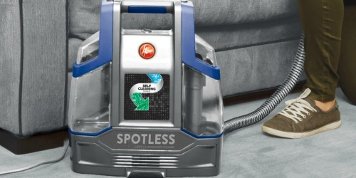 Hoover Spotless Deluxe Portable Carpet & Upholstery Cleaner Only $55.99 Shipped (Regularly $120)