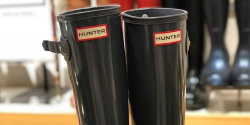 Hunter Women's Boots as Low as $59.50 Shipped (Regularly $140) & More