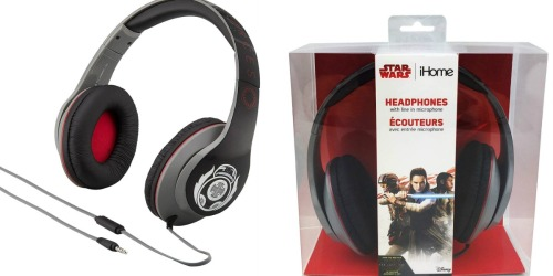 iHome Star Wars Headphones Just $6.49 Shipped (Regularly $25)