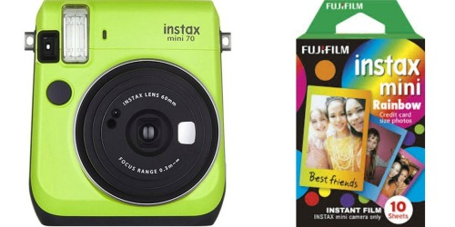 Amazon: Instax Mini 70 Instant Camera Bundle Just $39.71 Shipped (Regularly $84)