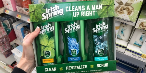 Irish Spring or Adidas Gift Sets Only $7.88 at Walmart After Cash Back (Just Use Your Phone)