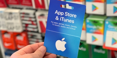 $100 iTunes eGift Card only $85 + More Discounted Gift Cards