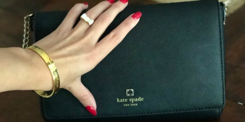 75% Off Kate Spade Wallets & Bags + Free Shipping