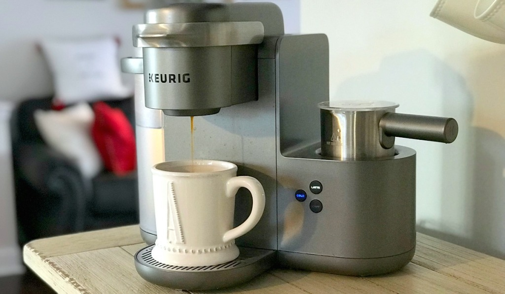 gift guide for coffee lovers — keurig k cafe espresso pod maker