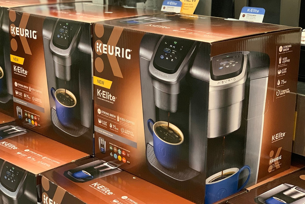 Keurig K-Elite K-Cup Pod Coffee Maker Only $110 Shipped ...