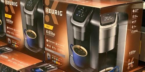 Keurig K-Elite K-Cup Coffee Maker as Low as $107.99 Shipped (Regularly $220) + $20 Kohl's Cash