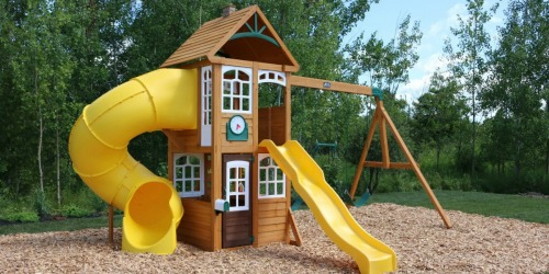 Over 50% Off KidKraft Castlewood Wooden Play Set + Free Shipping