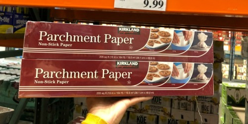 Costco Members: LARGE Kirkland Signature Parchment Paper 2-Packs Only $9.99