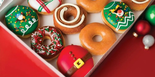 Buy One Holiday Krispy Kreme Doughnut, Get One FREE for Rewards Members (12/1 Only)