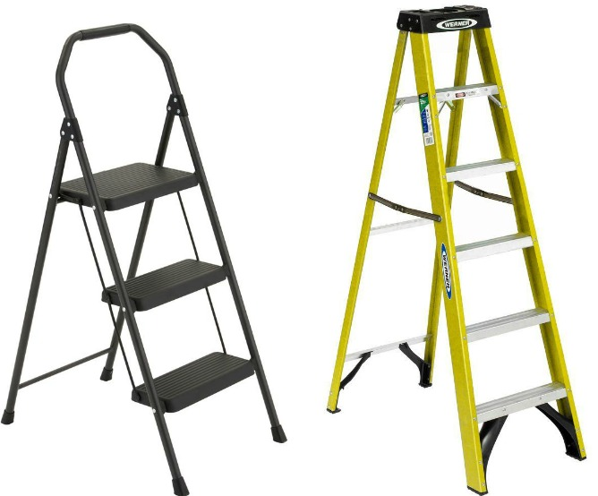 Enjoyable Gorilla Ladders Compact Step Stool Only 14 88 At Home Depot Pdpeps Interior Chair Design Pdpepsorg