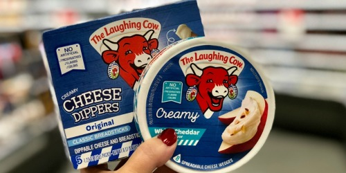 50% Off The Laughing Cow Cheese at Target (Just Use Your Phone)