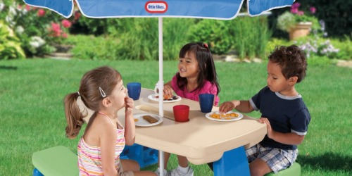 Little Tikes Picnic Table w/ Umbrella Just $39 Shipped (Regularly $90)