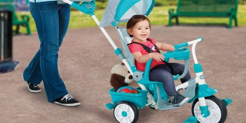 Amazon: Little Tikes Perfect Fit 4-in-1 Trike Only $51 Shipped (Regularly $110)