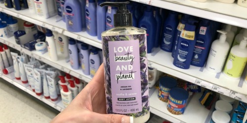 50% Off Love Beauty & Planet Lotion at Target