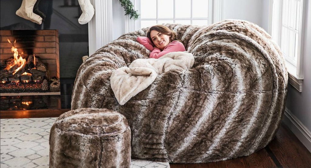 gift guide for homebody — love sac