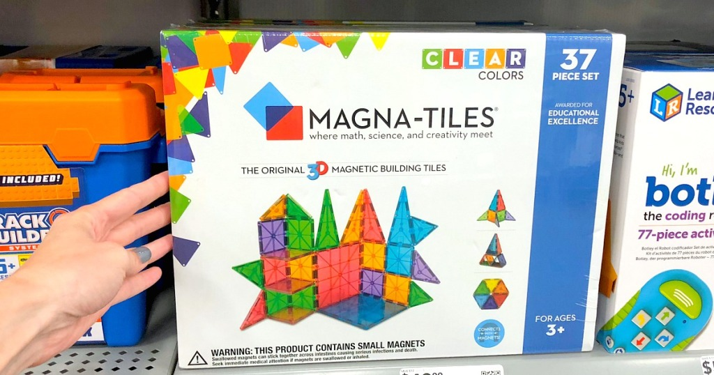 toys for toddlers — magna tiles 37 piece set