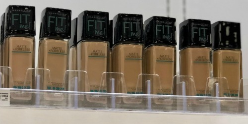 Amazon: Maybelline Liquid Foundation Just $1.64 Shipped + More